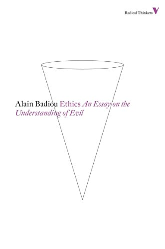 Ethics: An Essay on the Understanding of Evil (Radical Thinkers) from Verso