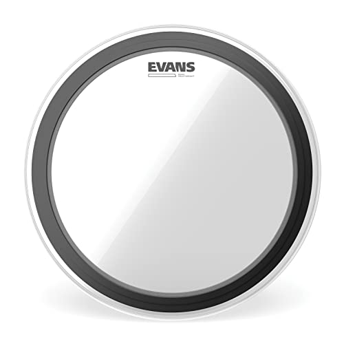 Evans BD20EMADHW 20 inch EMAD Heavyweight Clear Bass Drum Head from Evans