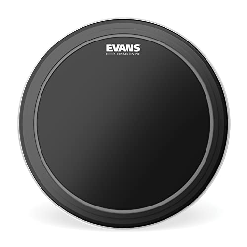 Evans BD20EMADONX EMAD Onyx 20-inch Bass Drum Head from Evans