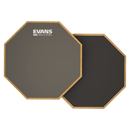Evans RF6D RealFeel Practice Pad, 2-Sided 6 inch from Evans