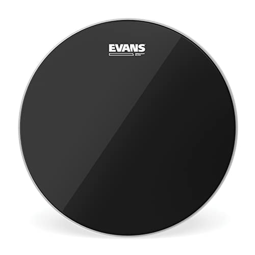 Evans TT14RBG Resonant Black 14-inch Tom Drum Head from Evans