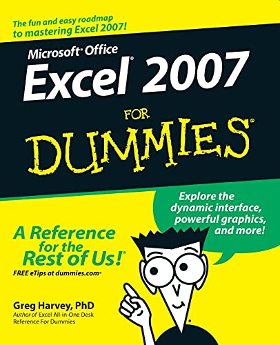 Excel 2007 For Dummies from John Wiley & Sons
