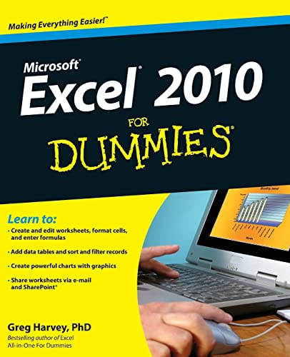 Excel 2010 For Dummies(r) from For Dummies