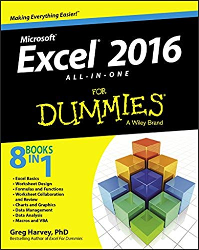 Excel 2016 All-In-One For Dummies from John Wiley & Sons Inc