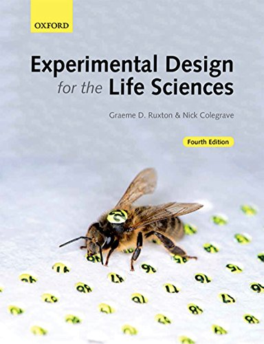 Experimental Design for the Life Sciences from OUP Oxford
