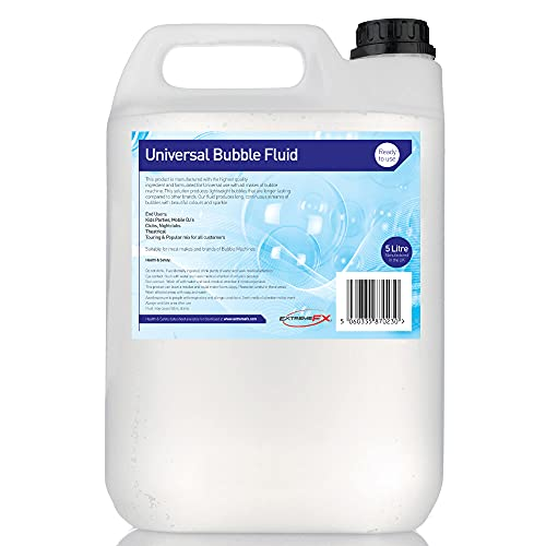 Bubble Fluid 5L bubble machine fluid kids bubble solution bubble machine from Extreme FX