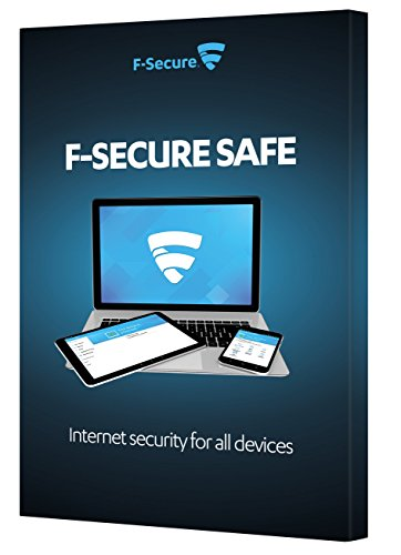 F-Secure Safe Internet Security Retail Box (2 Years, 3 Devices) (PC/Mac/Android) from F-Secure