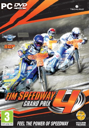 FIM Speedway Grand Prix 4 (PC DVD) from Excalibur Games