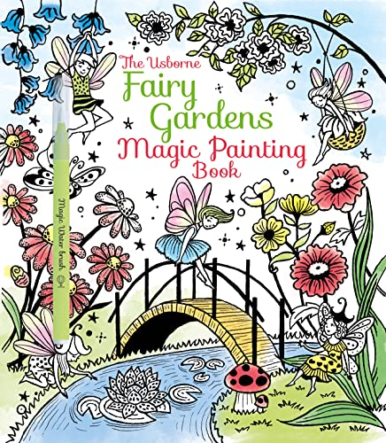 Fairy Gardens Magic Painting Book: 1 (Magic Painting Books) from Usborne Publishing Ltd