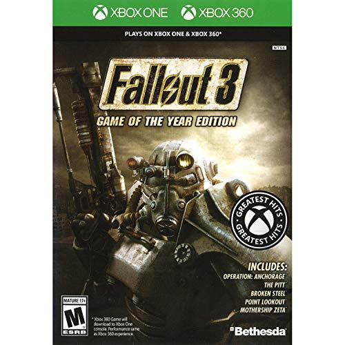 Fallout 3: Game of the Year Edition - Classic (Xbox 360) from Bethesda