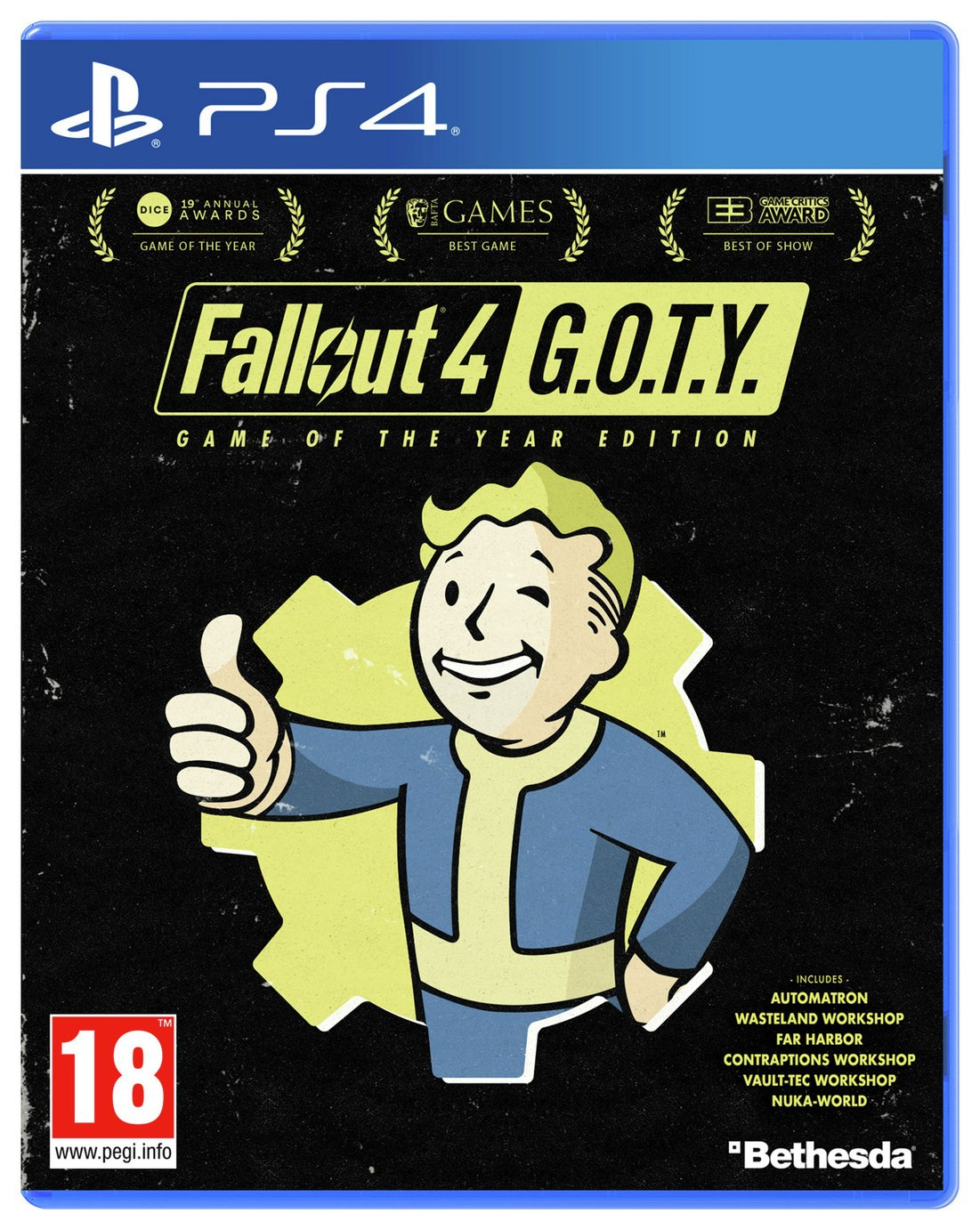 Fallout 4 GOTY Edition PS4 Game from Fallout