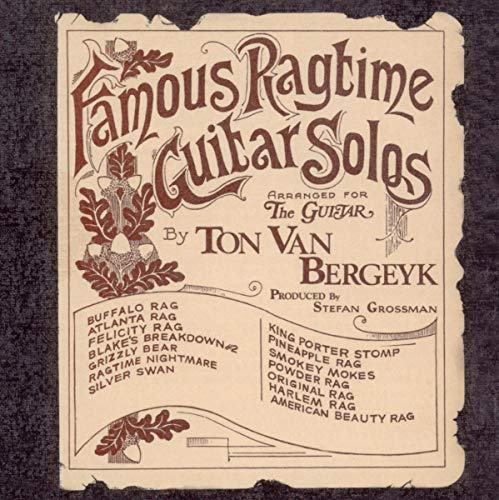 Famous Ragtime Guitar Solos from Acoustic Music