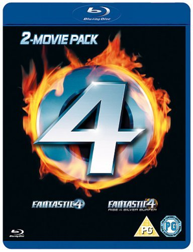 Fantastic Four / Fantastic Four: Rise of the Silver Surfer Double Pack [Blu-ray] from Twentieth Century Fox