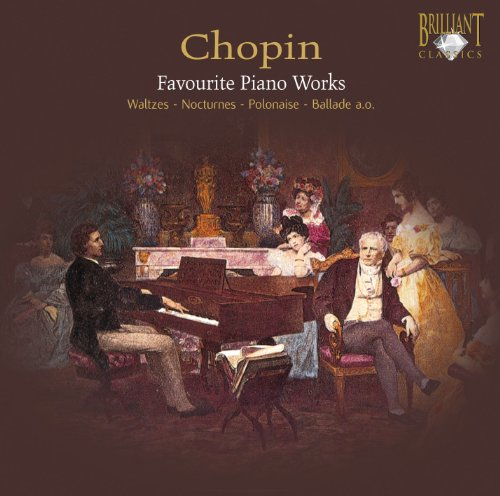 Favourite Piano Works (Van Den Hoek) from BRILLIANT CLASSICS