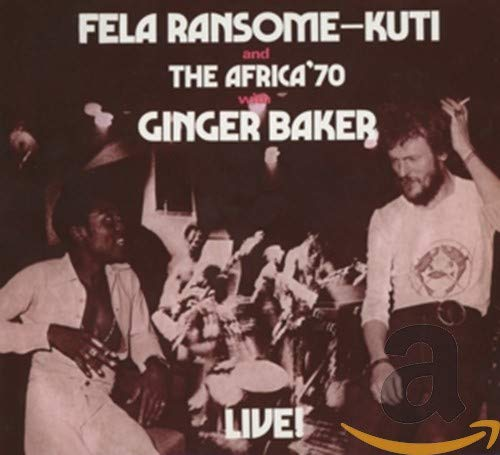 Fela With Ginger Baker Live! from Knitting Factory Records