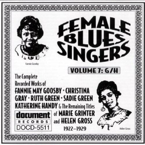 Female Blues Singers, Vol. 7: G/H