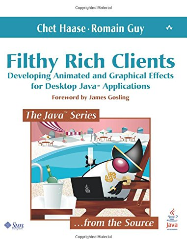 Filthy Rich Clients: Developing Animated and Graphical Effects for Desktop Java Applications (Java (Prentice Hall)) from Addison-Wesley Professional