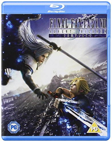 Final Fantasy VII - Advent Children [Blu-ray] [2009] [Region Free] from Sony Pictures Home Entertainment