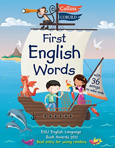 First English Words (Incl. audio CD): Age 3-7 (Collins First English Words) from Collins
