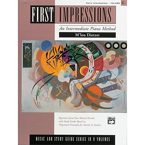 First Impressions: Music and Study Guides, Volume C from Alfred Music