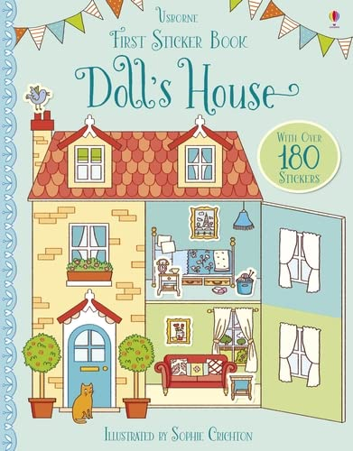 First Sticker Book Doll's House (First Sticker Books) from Usborne Publishing Ltd