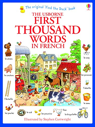 First Thousand Words in French (Usborne First Thousand Words): 1 from Usborne Publishing Ltd