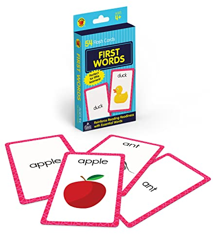 First Words (Brighter Child Flash Cards) from Brighter Child