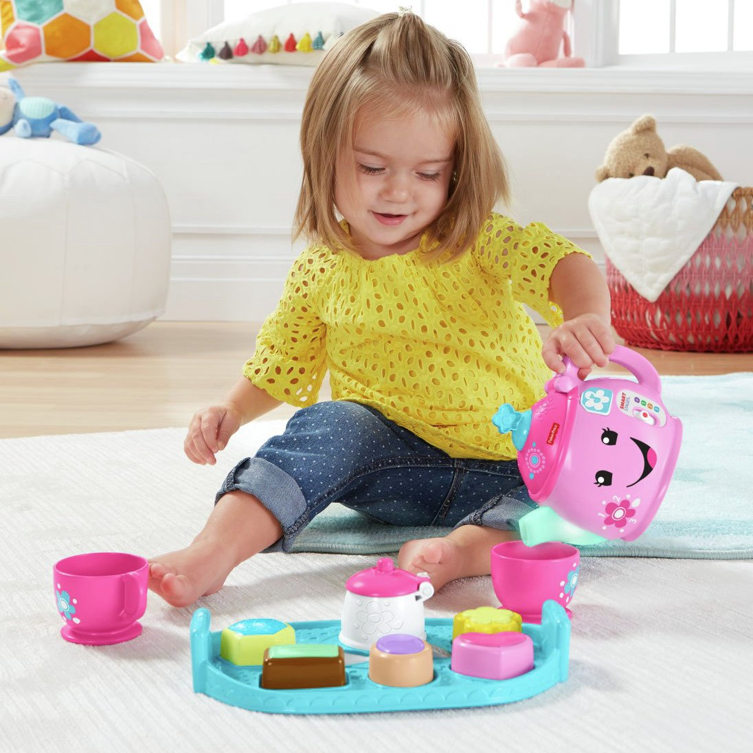 Fisher-Price Laugh & Learn Sweet Manners Tea Set from Fisher-Price