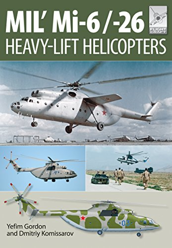 Flight Craft 10: MIL' MI-6/-26: Heavy Lift Helicopters from Pen & Sword Aviation