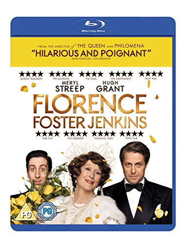Florence Foster Jenkins [Blu-ray] [2016] from 20th Century Fox Home Entertainment