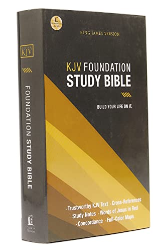 Foundation Study Bible, KJV from Thomas Nelson Publishers