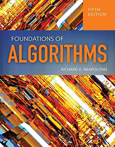 Foundations of Algorithms from Jones and Bartlett Publishers, Inc