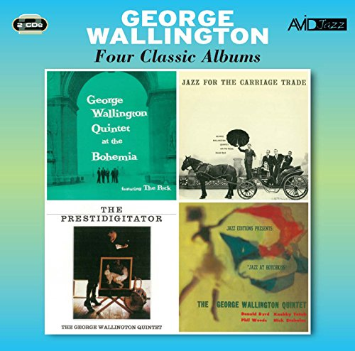 Four Classic Albums (At The Bohemia / Jazz For The Carriage Trade / Jazz At Hotchkiss / The Prestidigitator) from Avid Jazz