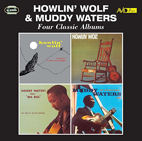 Four Classic Albums (Moanin' In The Moonlight / Howlin' Wolf / Sings Big Bill Broonzy / At Newport) from Avid UK
