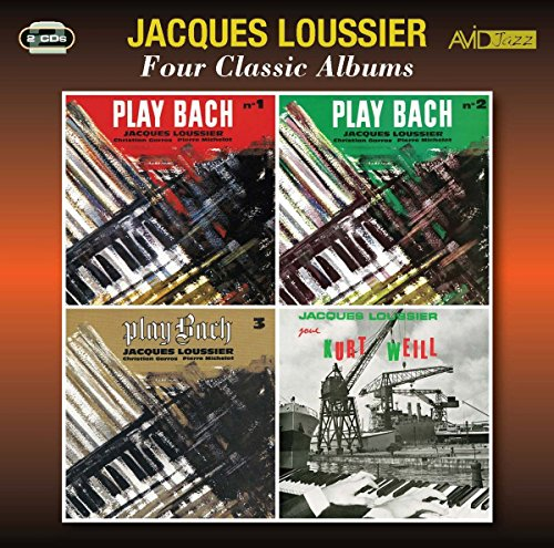 Four Classic Albums (Play Bach Vol 1 / Play Bach Vol 2 / Play Bach Vol 3 / Jacques Loussier Joue Kurt Weill) from Avid Jazz