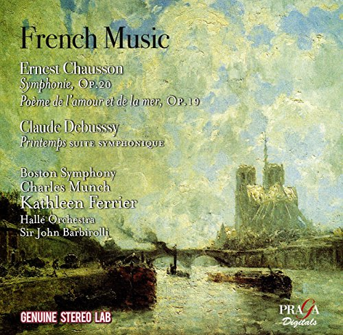 French Music: Works By Chausson & Debussy from PRAGA DIGITALS