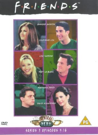 Friends - Series 3 - Episodes 9-16 [DVD] [1995] from Whv