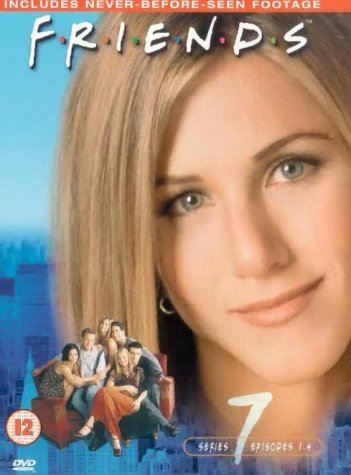 Friends: Series 7 - Episodes 1-4 (Plus Director's Cut) [DVD] [1995] from Whv