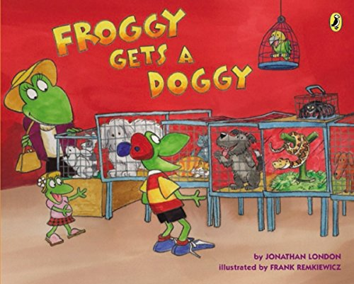 Froggy Gets a Doggy from Puffin Books