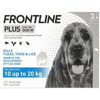 Frontline Plus Spot On Dog 10-20kg 3 Pipettes from Frontline