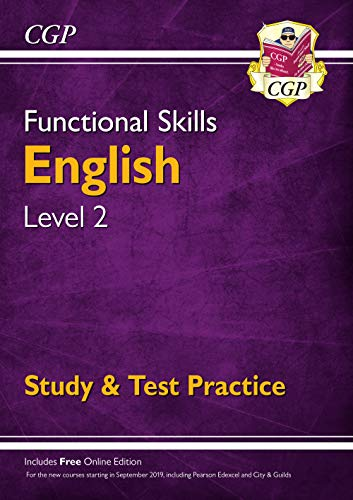 Functional Skills English Level 2 - Study & Test Practice (CGP Functional Skills) from Coordination Group Publications Ltd (CGP)