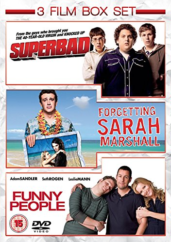Funny People/Superbad/Forgetting Sarah Marshall [DVD] from Uca