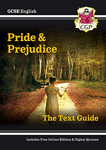 Grade 9-1 GCSE English Text Guide - Pride and Prejudice (CGP GCSE English 9-1 Revision) from Coordination Group Publications Ltd (CGP)