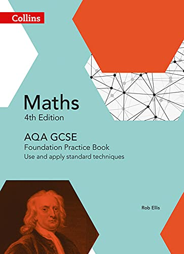 GCSE Maths AQA Foundation Practice Book (Collins GCSE Maths) from HarperCollins UK