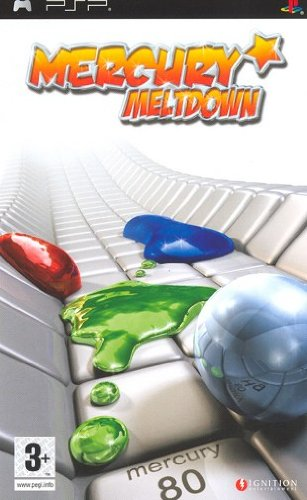 GIOCO PSP MERCUTY MELTDOWN