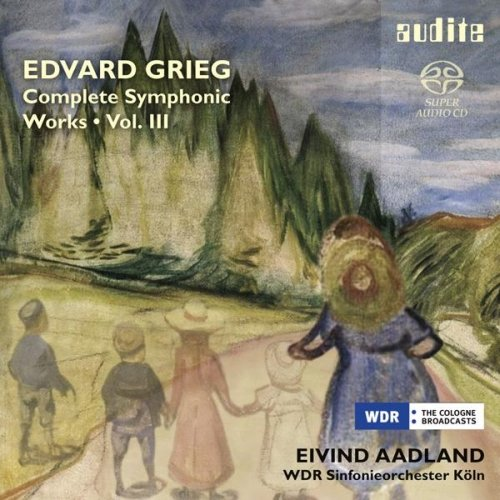 GRIEG: COMPLETE SYMPHONIC WORKS VOL.3 from AUDITE