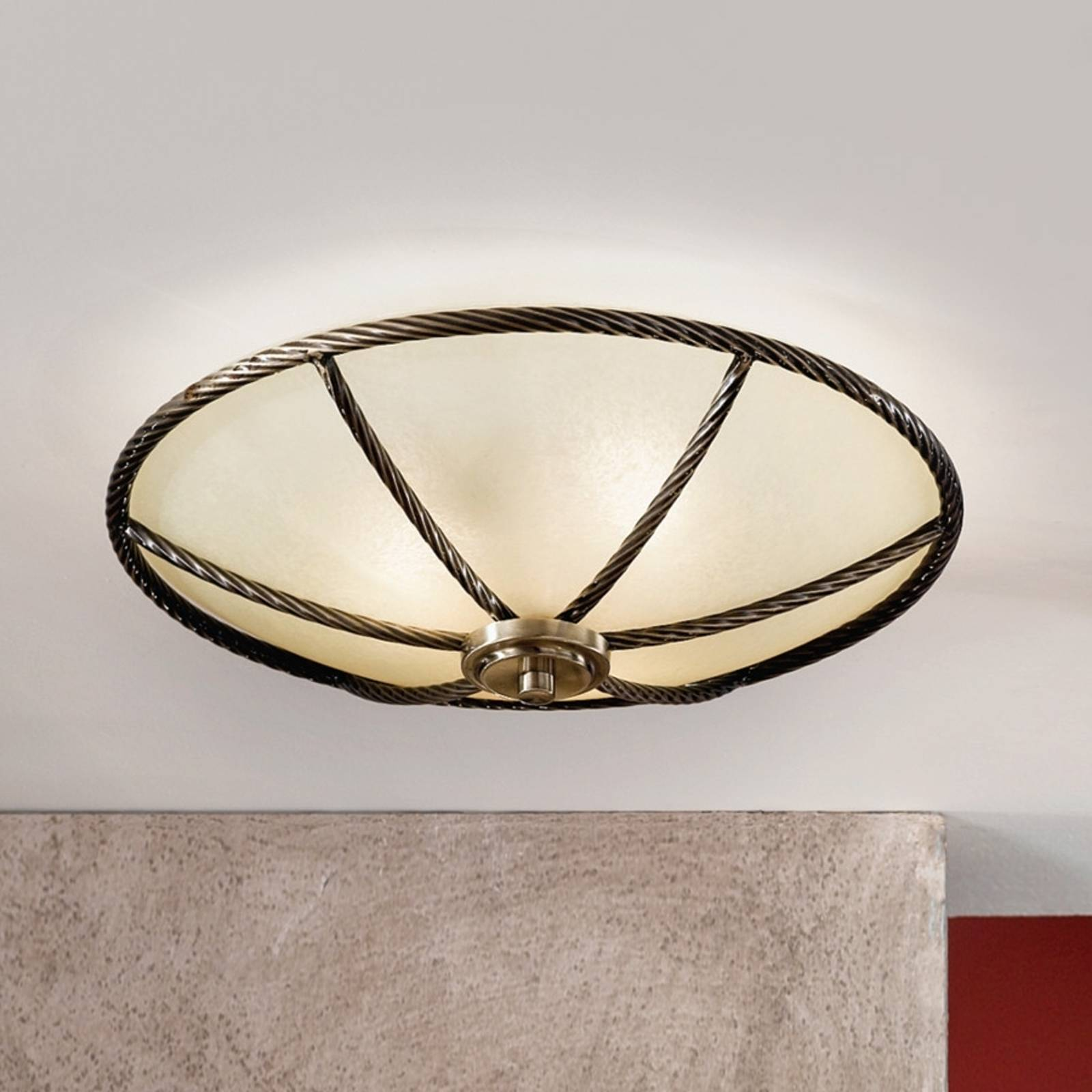Galina Ceiling Light Champagne 42 cm from Orion