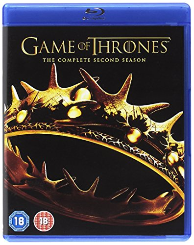 Game of Thrones: Season 2 [Blu-ray] [2011] [2013] [Region Free] from Warner Home Video