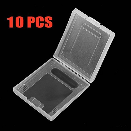 Gamelink Clear protective game cartridge case for Gameboy Color GBC pack 10pcs from Gamelink