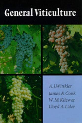 General Viticulture from University of California Press
